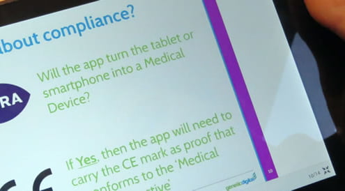 Medical app compliance