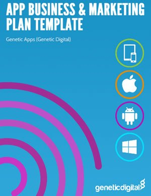 App Business Marketing Plan Template Genetic Apps - Business plan template for app
